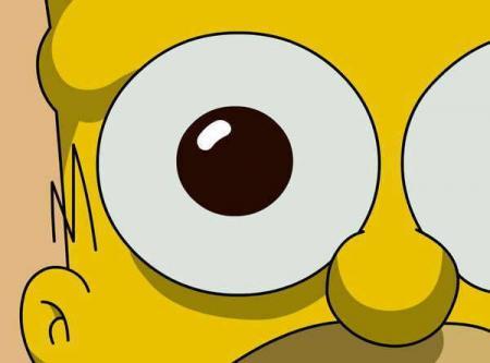 pupilas dilatadas homer