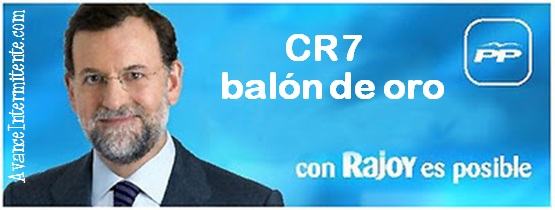 rajoy posible cr7 balon oro