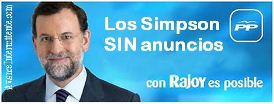 rajoy posible simpson sin anuncios