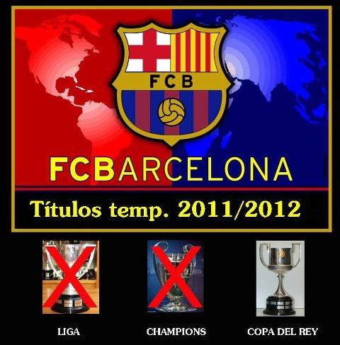 FC barcelona liga champions copa del rey
