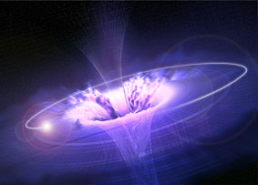 agujero negro boson higgs