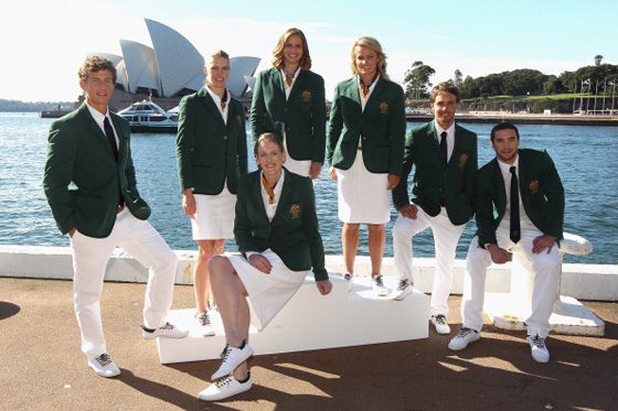 Australia uniforme olimpico 2