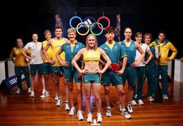 Australia uniforme olimpico