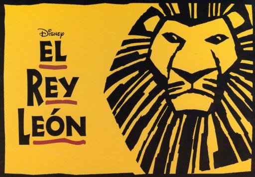 rey leon el musical