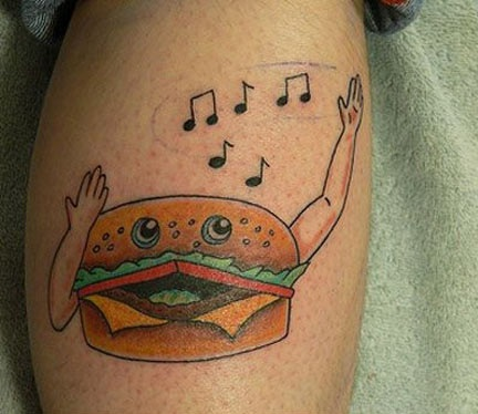 tatuaje hamburguesa