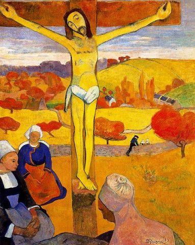 El cristo amarillo gauguin