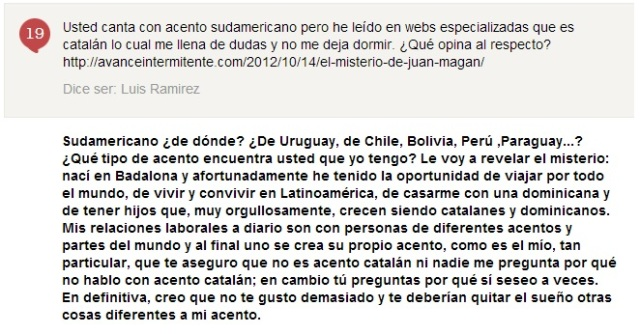 juan magan acento sudamericano catalan