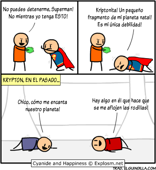 superman kriptonita
