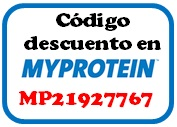 Myprotein discount coupon code save referido