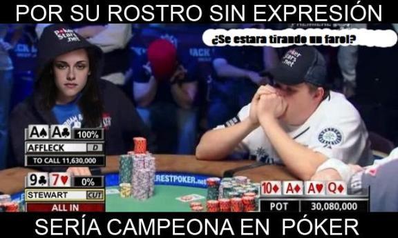 expresiones kristen stewart emociones inexpresiva poker