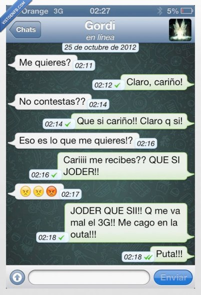 whatsapp doble check malentendido
