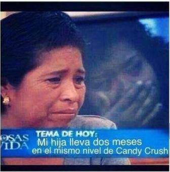 hija mismo nivel candy crush