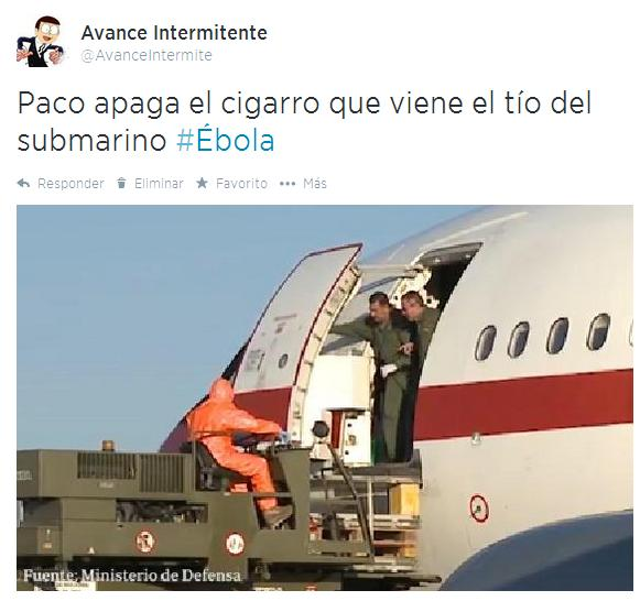 seguridad españa ebola avion infectado