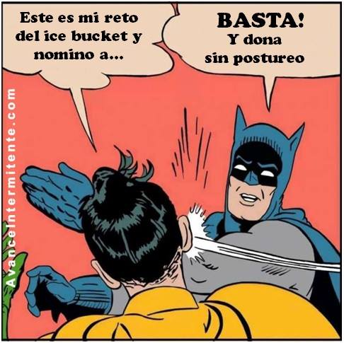 batman ice bucket challenge reto