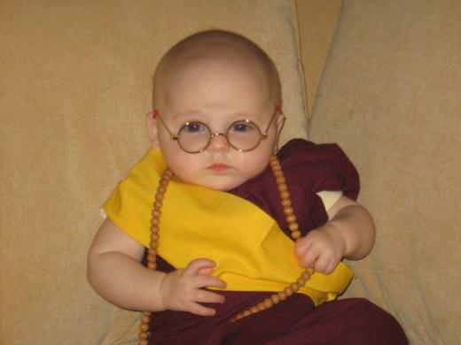 disfraz dalai lama