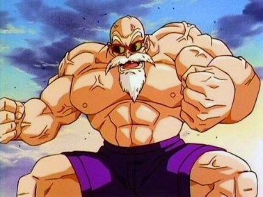 maestro roshi fuerte humano