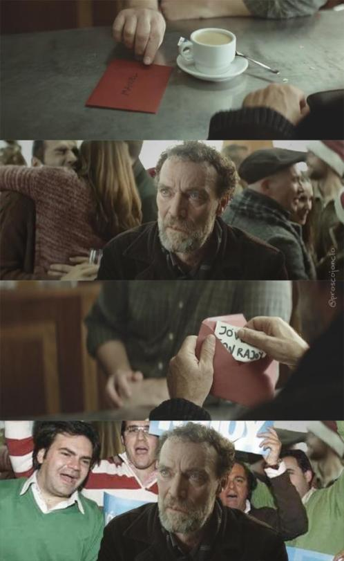 Imagen graciosa anuncio loteria navidad 2014