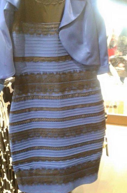 Vestido cambia de color