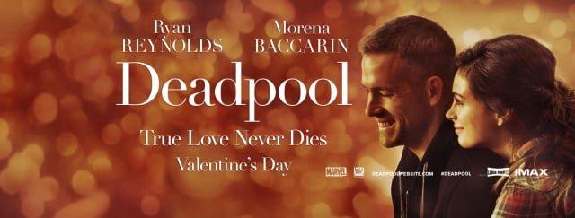 deadpool novia pelicula romantica
